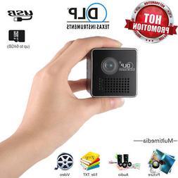 Mini Pocket Home Theater Multimedia1080P HD LED DLP Projecto