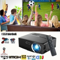 Mini Portable 3000Lumen LED Android 3D Wifi HD 1080p 4K Home
