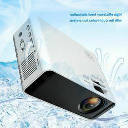 Mini Portable 3D LCD Projector HD Micro Mobile Phone Video H