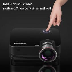 Mini Portable 5000 Lumens Touch Panel LED Projector Multimed