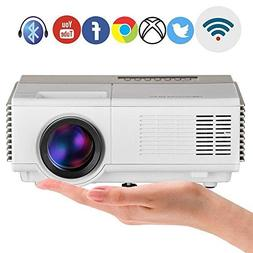 Smart Mini WiFi Projector Portable with Android Bluetooth 15