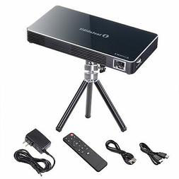mini portable dlp projector 3d hd home