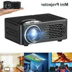 Mini Pocket LED Home Cinema Projector HD 1080P Video Theater
