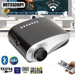 mini portable multimedia led projector 7000 lumens