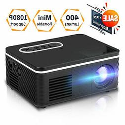 Mini Portable Pocket Projector HD 1080P Movie Video Home The