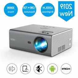 Mini Portable Projector 720P Android 6.0 WiFi Blue-tooth Mir