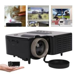 Mini Portable Projector LED HD Micro Mobile Phone Video Home