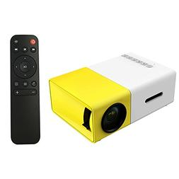 mini portable rechargeable projector projection