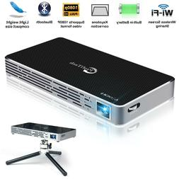 Mini Portable Smart Video Projector 200 Ansi Lumens Android