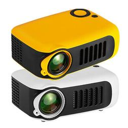 Mini Portable Video Beam Projector HD1080P Home Theater USB
