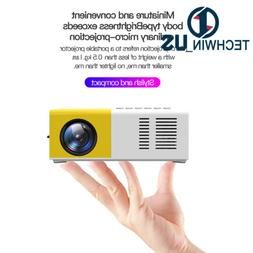 Mini Portable YG300 Multimedia LCD Projector Full HD 1080P H