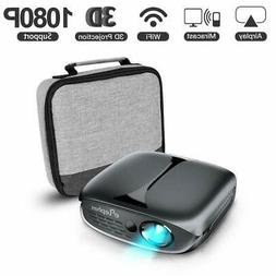 Mini Projector ELEPHAS 2600 Lumen Wi-Fi Portable Pico Home T