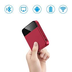 Mini Projector,Portable Video Android TV LED Projector Built