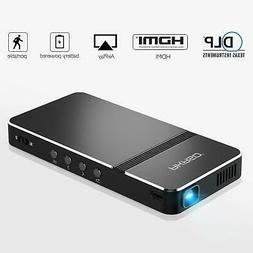 Mini Video Projector, AKASO Portable Pico Projector 1080P HD