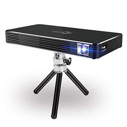 Mini Projector,Smart Pico DLP Projectors,New Android 7.1 Bui