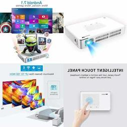 Mini Projector WOWOTO A5 100ANSI Android 7.1 Portable DLP Vi