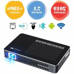 Mini Projector WOWOTO A5 Pro 100ANSI Android 7.1 2+32G Porta