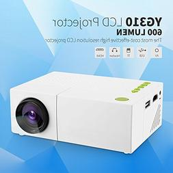 Mini Projector, Fosa Portable 1080P LED Projector for iPhone