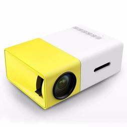 Mini Projector, DeepLee DP300 Portable LED Projector support