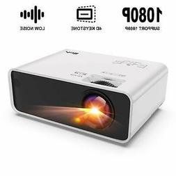 Mini Projector Artlii Enjoy Portable HiFi 1080P TV Cinema HD