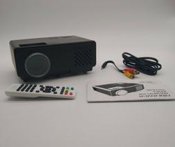 MOOKA Mini Projector Full HD 1080P Supported Video Projector