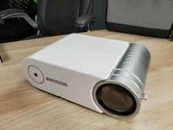 Mini Projector, GooDee G500 HD Video Projector 3800 Lux with