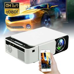 Mini Projector HD 1080P Home Theater LED Video Movie USB/AV/