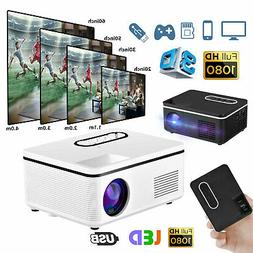 mini projector led hdmi av usb tf