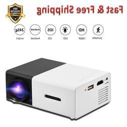 Mini Projector Portable 1080P LED Projector Home Cinema Thea