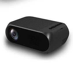 elegantstunning Mini Projector Home Theater Cinema TV Portab