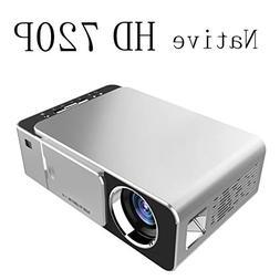 Mcwell Mini Projector,2500 Lumens LED Portable Full HD Multi