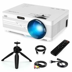 "Merisny Mini Projector - Portable Video Projector 176"" Displ"