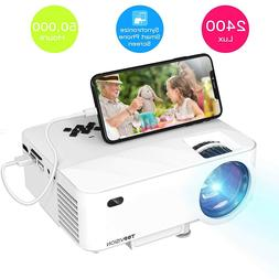 Mini Projector TOPVISION 2400 Lux Projector with Synchronize
