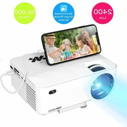 mini projector topvision 2400lux projector with synchronize