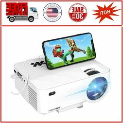 Mini Projector TOPVISION Projector with Synchronize Smart Ph