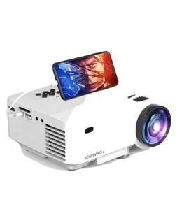 Mini Projector, TOPVISION Projector with Synchronize Smart P