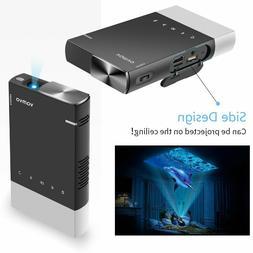 Vamvo - Mini Projector - Ultra Mini Portable Projector 1080p