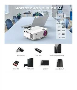 Mini Projector, TOPVISION Video Projector with Synchronize S