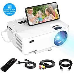 Mini Projector TOPVISION Video Projector with Synchronize Sm