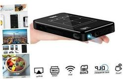 Mini Projector, WiFi Video Projector DLP Projector with 50,0