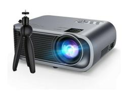 VicTsing Mini Projector with Tripod, 720P Native Resolution