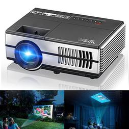Mini Projectors, EUG Portable LCD Home Projector Multimedia