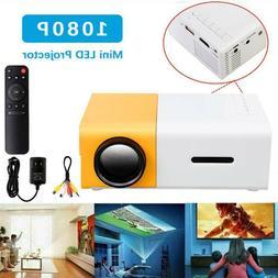 Mini Projector YG300 3D HD LED Home Theater Cinema 1080P AV