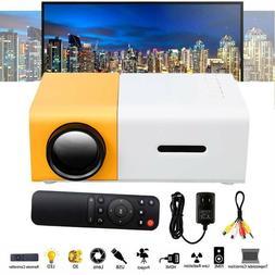 Mini Projector YG300 HD LED Home Theater Cinema 1080P AV USB