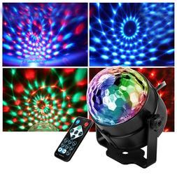 Mini RGB LED Magic Light Ball Laser Projector Stage Light fo