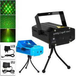 MINI STAGE LIGHT R+G LED LAZER PROJECTOR DJ FOR XMAS PARTY C