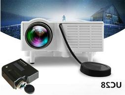 MINI UC28 Multimedia Projector LED HD Home Cinema Theater PC