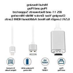 Cable Mini USB MHL a HDMI 1080P Para TV Aplica iPhone 8 7 6