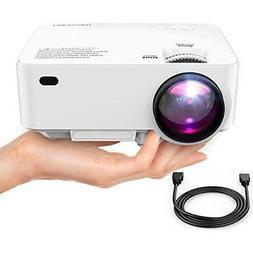 Mini Video Projectors Projector , 50% Brighter Full HD LED