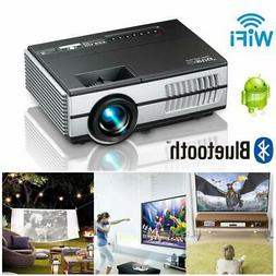EUG Mini WiFi Video Projectors with HDMI-in USB VGA 3.5mm Au